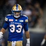Ricky's Free play on the Under 51.5 (Blue Bombers vs Argos)